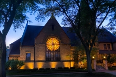 New England Congregational Church in Aurora