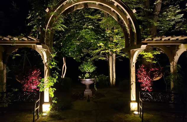 illuminated garden by the illuminators
