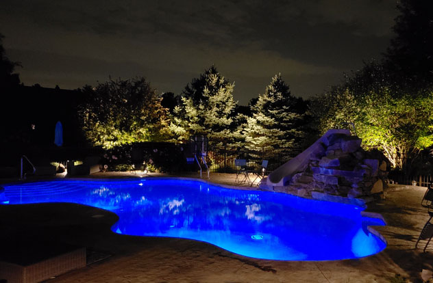 underwater pool light installation in illinois
