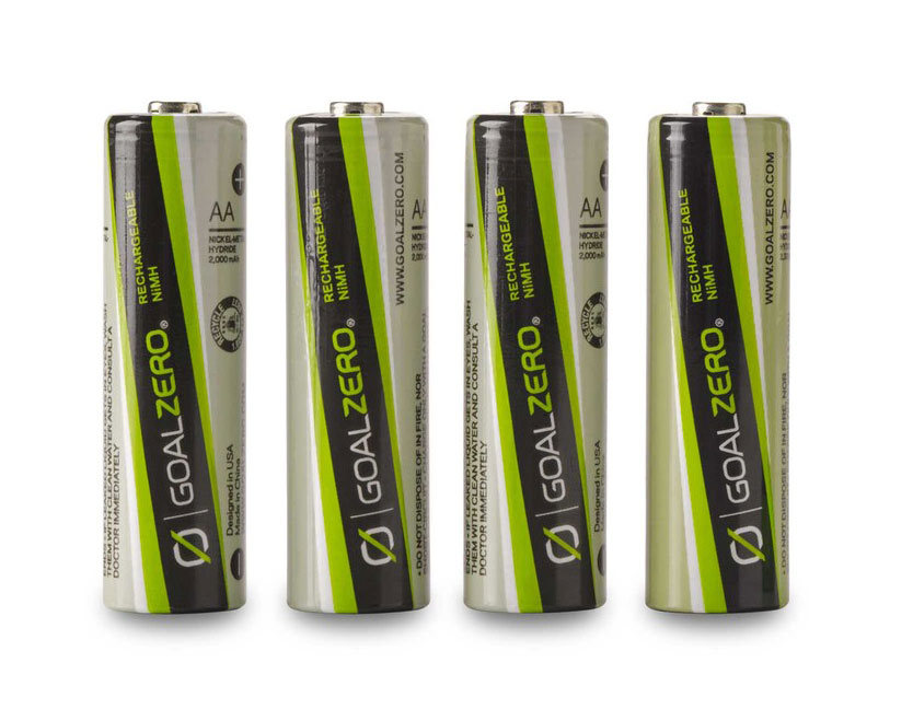 rechargeable batteries for solar lights